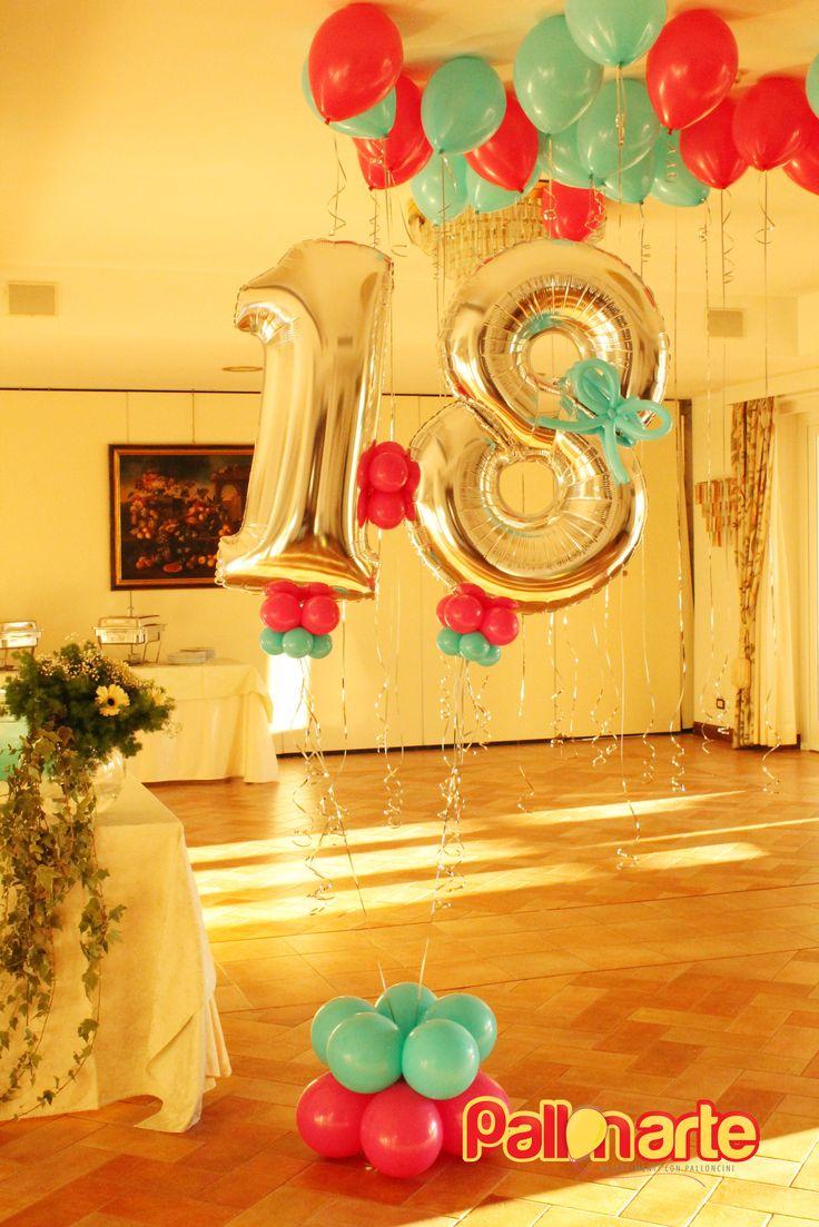 mylar balloon number birthday original palloncini grosseto globos numero compleanno tiffany fucsia