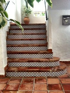 beautiful staircase tiling #Interiors #staircase #tiles