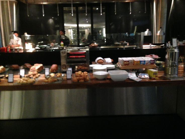 Buffet Breakfast at Vintaged Grill - Hilton Brisbane Hotel