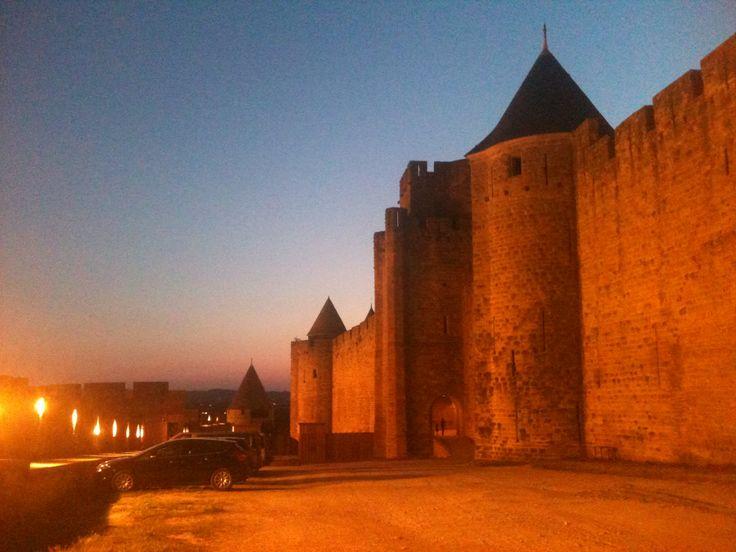 Cité de Carcassonne à Carcassonne, Languedoc-Roussillon