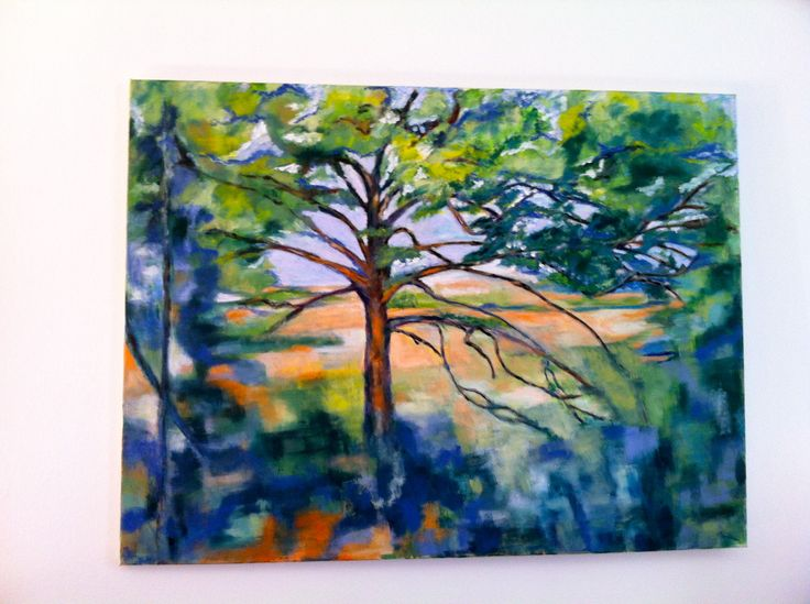 Oilpainting -parafrase Cezanne