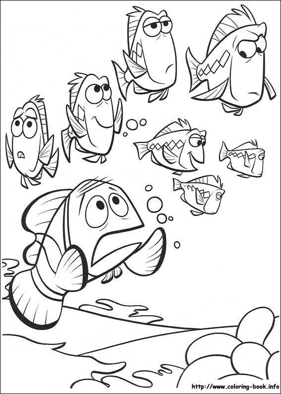 nemo coloring pages images google | 17 Best images about finding nemo on Pinterest | Coloring ...