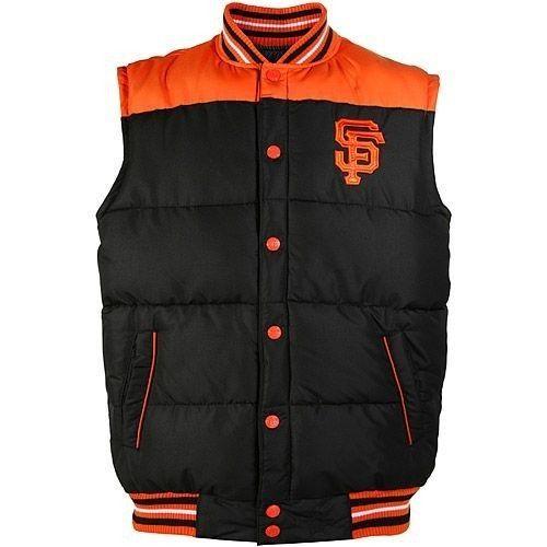 San Francisco Giants Black OJ Reversible Vest