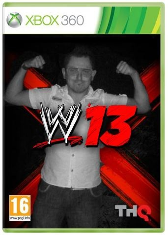 Me on the cover of WWE 13!