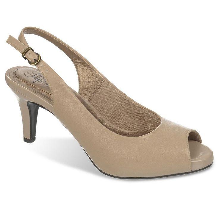 LifeStride Teller Women's Slingback Dress Heels, Size: