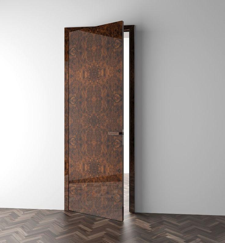 interierove dvere HANAK na mieru, jedinecna specialna dyha s lakovanym povrchochom