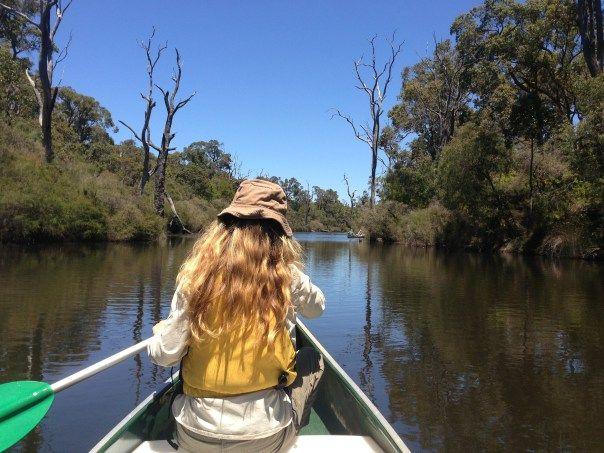 Kayaking Margaret River