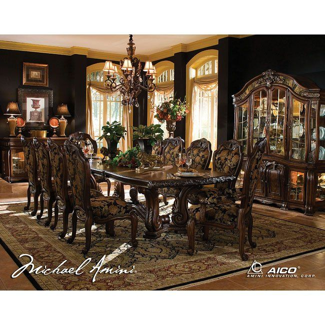 Oppulente Rectangular Dining Room Set Classic Dining Room Formal Dining Room Sets Rectangular Dining Room Set