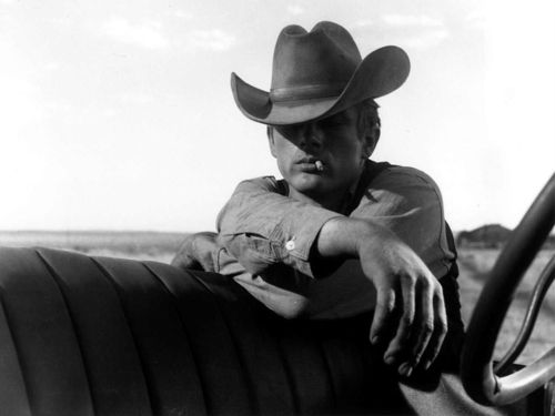 James Dean in 'Giant', 1956/
