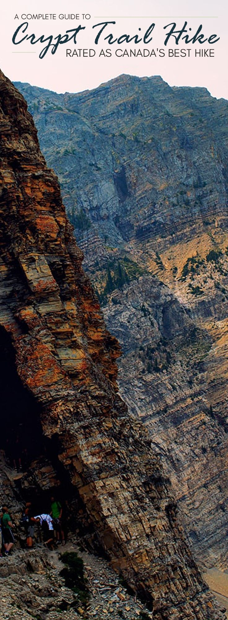 Located in Waterton Lakes National Park, Crypt Lake Trail is one of the world's 20 most thrilling trails as rated by National Geographic.
