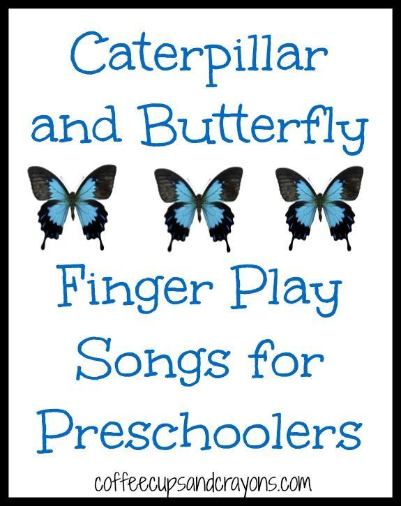 Caterpillar and Butterfly Songs for Preschool Kids!