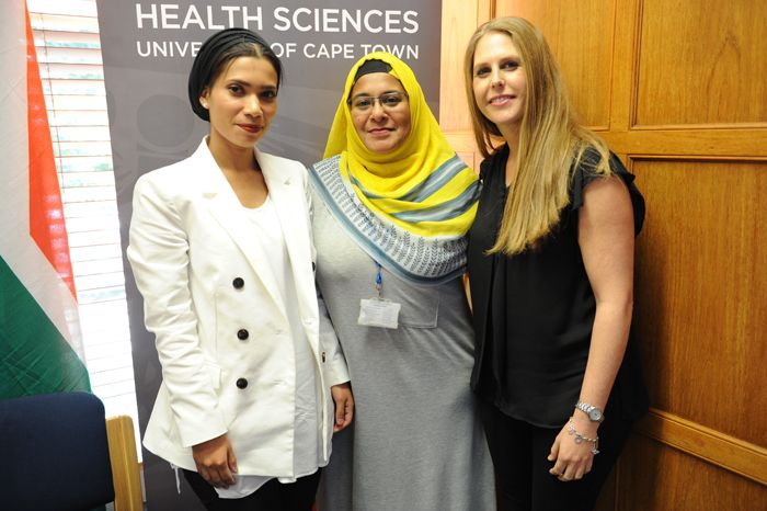 Fifty years after South Africa performed the world's first successful heart transplant' researchers at UCT's Hatter Institute for Cardiovascular Research in Africa (HICRA), through global collaboration, have identified a new gene that is a major cause of sudden death among young people and athletes. Maryam Fish' Gasnat Shaboodien and Sarah Kraus make up the all-female UCT team that made the discovery.