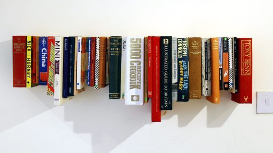 The book book shelf is created by the Londonbased designstudio not tom