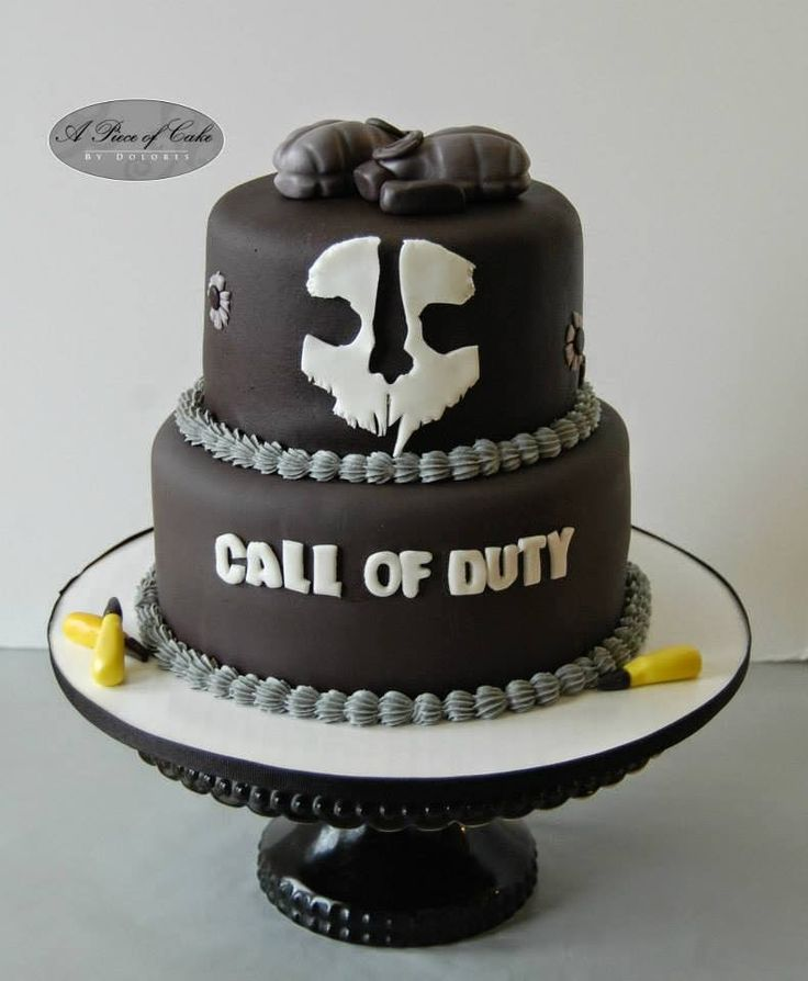 Call Of Duty Ww Cake Toppers
