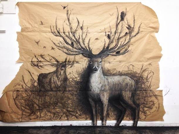 Illustration en relief de Fiona Tang