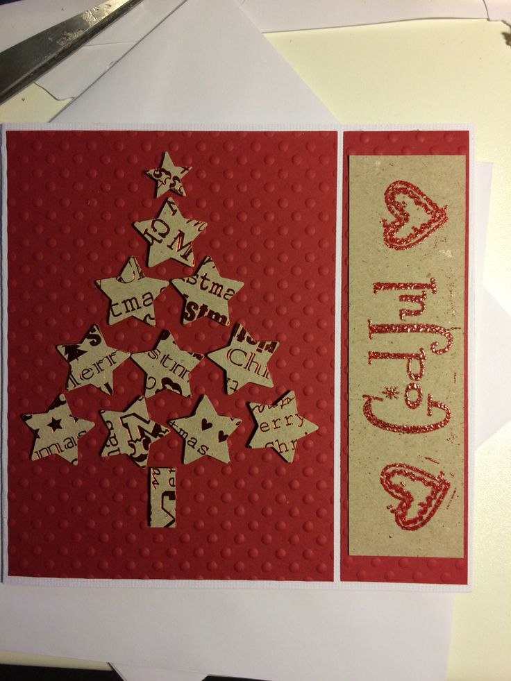 Christmas card julkort scrapbooking kortmakeri inspiration hämtad från Heather Telford.