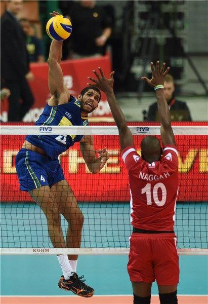 Match - Tunisia-Brazil - FIVB Volleyball Men's World Championship Poland 2014