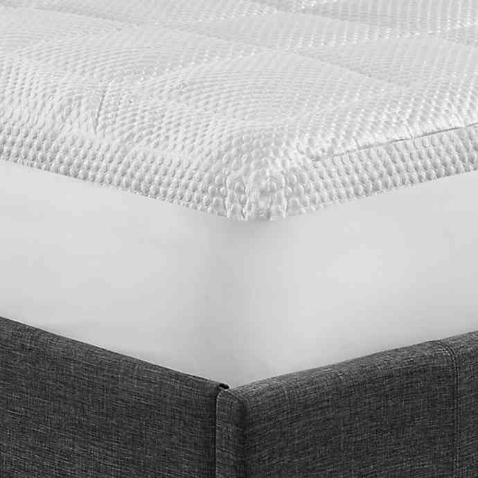 Arctic Chill Gel Cooling Mattress Topper In White Mattress