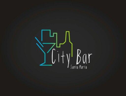 Logo City Bar Santa Marta #Logo #JezaDG