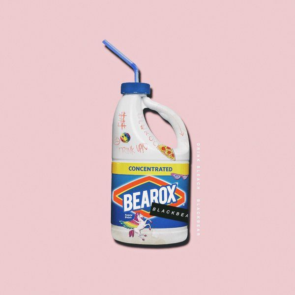 Drink Bleach Blackbear I Love Black Bear And All The Art Stuff For His Albums Music Is Just My Big Mood