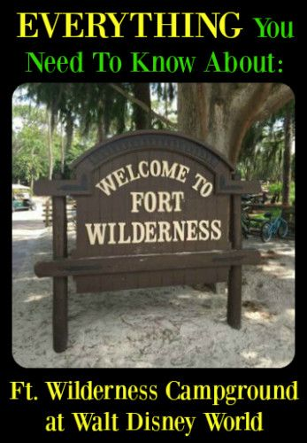 Ft. Wilderness Campground at Walt Disney World is for those who love to camp. You can rent a campsite and camp in either your RV or your tent. This is a great way to experience staying on Disney property without breaking the bank.