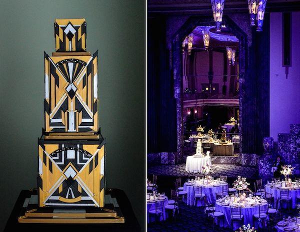 Art Deco Wedding Hilton Netherland Cincinnati