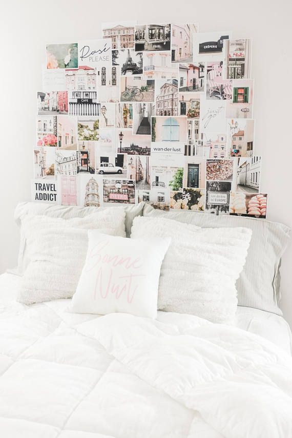 Gallery Wall Art Pink Wall Art Room Decor Wall Prints