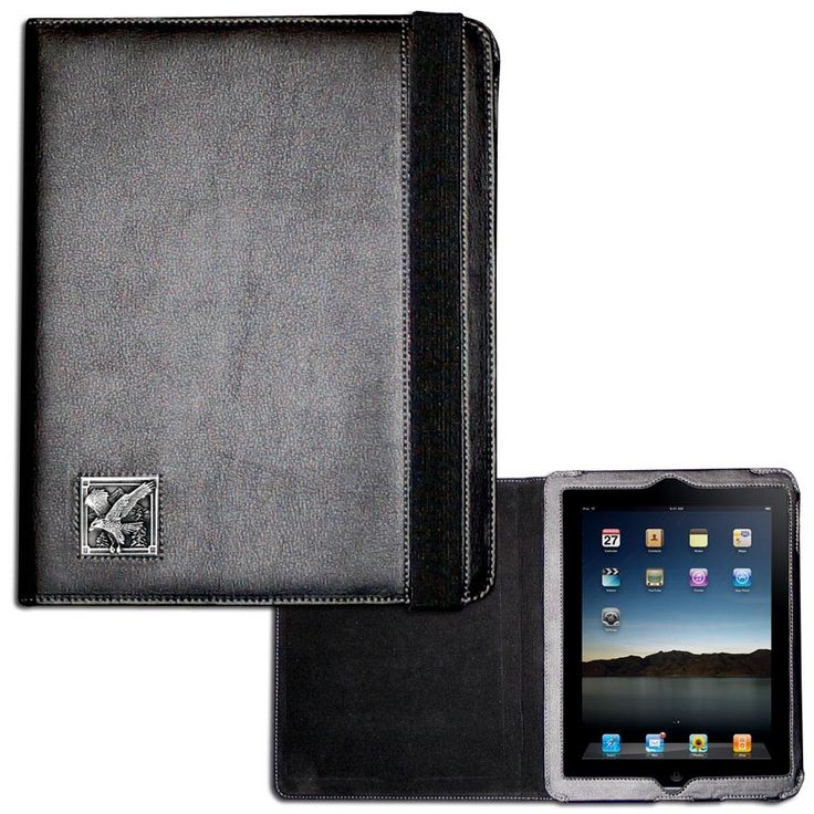 """Checkout our #LicensedGear products FREE SHIPPING + 10% OFF Coupon Code """"Official"""" Eagle iPad 2 Case - Officially licensed Siskiyou Originals product Fits the iPad 2 or 3 tablet Complete access to the tablet while in the case  Stretch strap secures the case while closed Metal  emblem with enameled team colors - Price: $25.00. Buy now at https://officiallylicensedgear.com/eagle-ipad-2-case-sipc2b"""