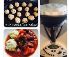 Recipe Beef Bourguignon with Parmesan Dumplings by The Satisfied Mixer - Recipe of category Main dishes - meat