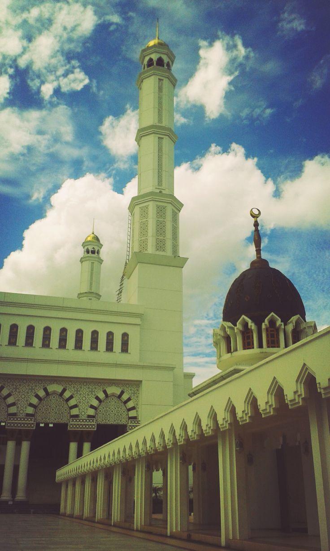 mesjid raya mujahidin (dari dalam)