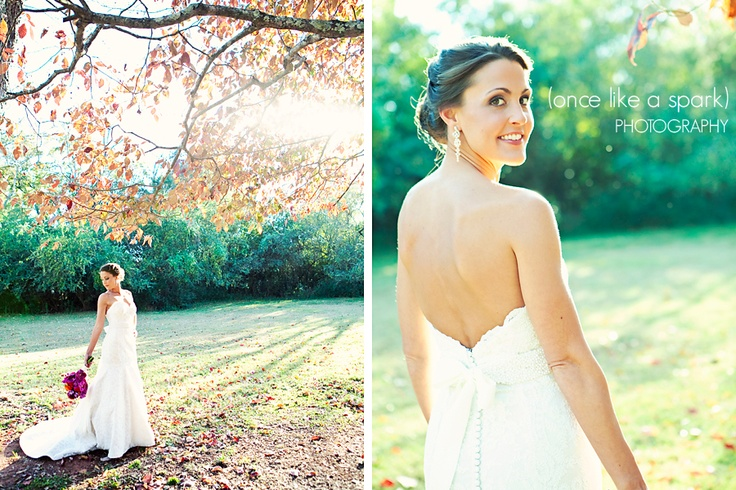 Bridal Portrait ideas  (www.oncelikeaspark.com)