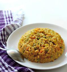 Masala Fada Khichdi Recipe, Daliya Khichdi (Broken Wheat Khichdi)