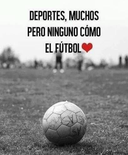 Amor al fútbol
