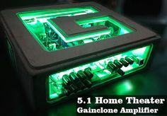 DIY Home Theater Amplifier