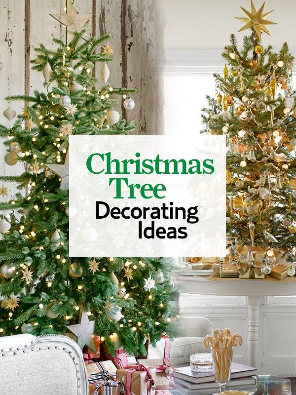 You'll find plenty of inspiration in our guide for decorating the centerpiece of your holiday home.