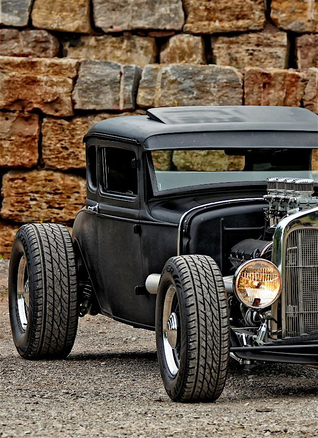"utwo: "" 30er Ford Model A Coupe Rat Rod © Gerd Scheidel """
