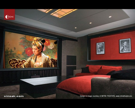 Cineak Intimo Seats in Home Theater   modern   media room   san. 8 best Lounge Home Theater images on Pinterest   Media rooms