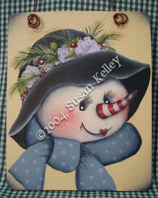 Lavender Rose Snowlady ePattern #082004