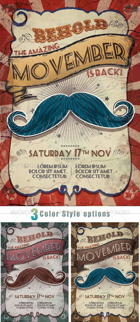 Movember Circus - Clubs & Parties Events
