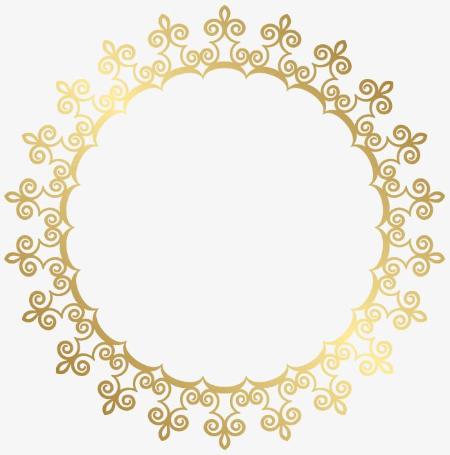 Circular French Pattern Border Png Picture French Clipart Pattern Border Round Border Png Transparent Clipart Image And Psd File For Free Download French Pattern Free Clip Art Clip Art