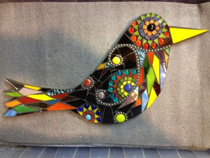Mosaic Madness by Jill Kernodle   Birds and Owls