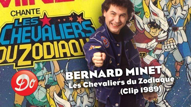 Les Chevaliers du Zodiaque : le générique de Bernard Minet (1989)