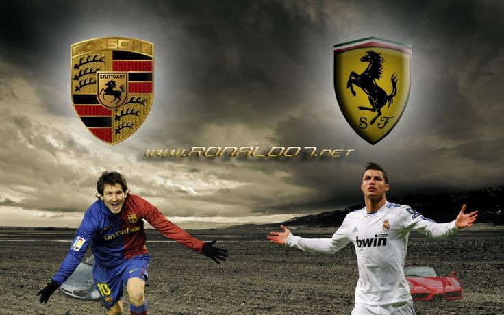 Cristiano Ronaldo Messi Background