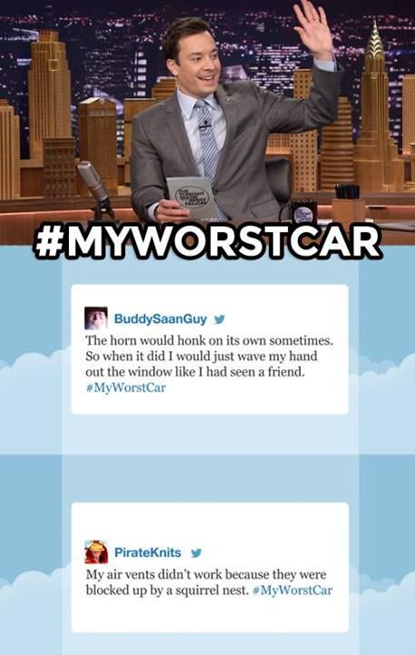 The Tonight show starring Jimmy Fallon - Hashtags