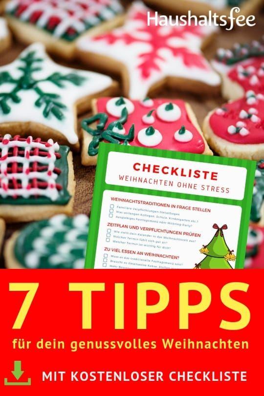 Hektik & Stress? 7 Tipps für dein genussvolles Weihnachten