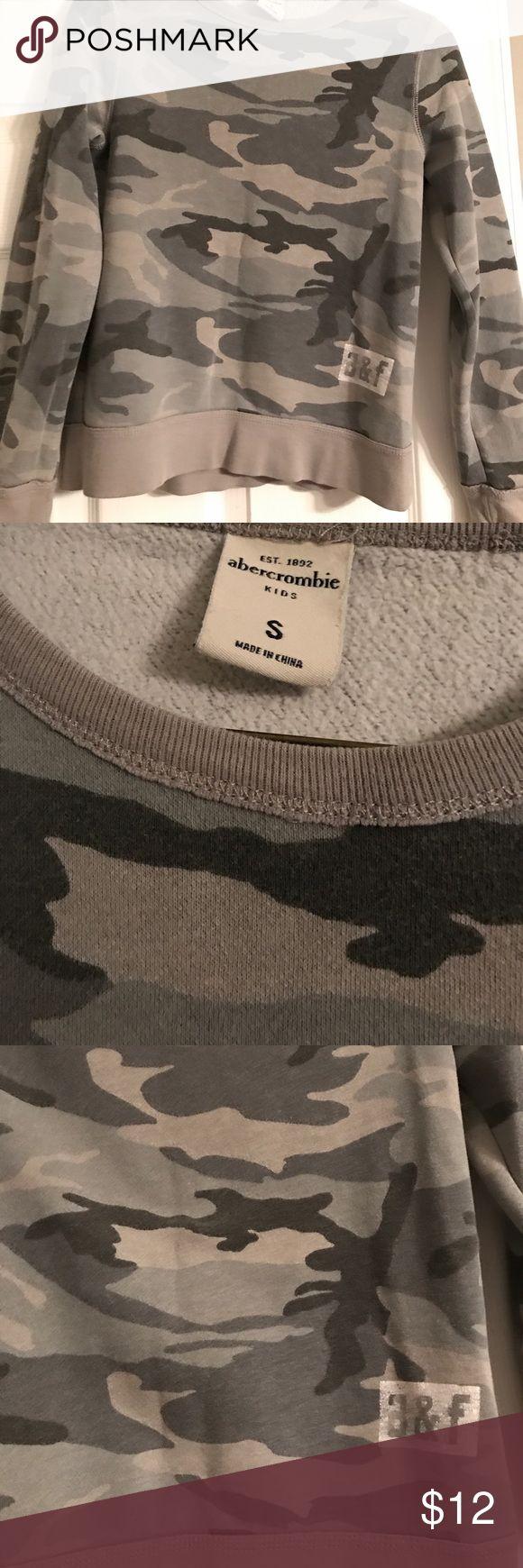 Boys Abercrombie Camouflage Sweatshirt Boys Abercrombie Camouflage Sweatshirt Abercombie Kids Shirts & Tops Sweatshirts & Hoodies