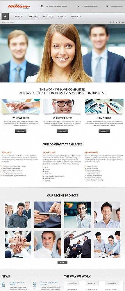 43 best business website templates images on pinterest business moto cms template 199 webdesign template business smallbusiness marketing moto business website templatesentrepreneur wajeb Gallery