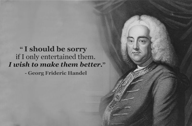 Handel -- ClassicFM.com (and something to aspire to)