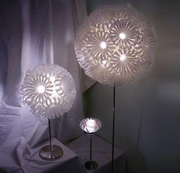 Lámparas con lo que te sobró.   Reciclajes impresionantes hechos en casa - Taringa!