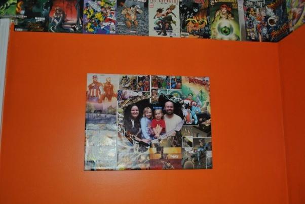 Comic Room Decor